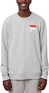 Fila Men's French Terry Crew Neck Sweatshirt