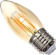 FRCOLOR E27 4W 220-240V Bulb Vintage Candle Light Bulb Compatible