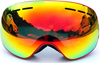 TPU PC Magnet Ski Goggles Large Spherical Double Permanent Anti Fog Snow Mirror Outdoor Climbing Mirror