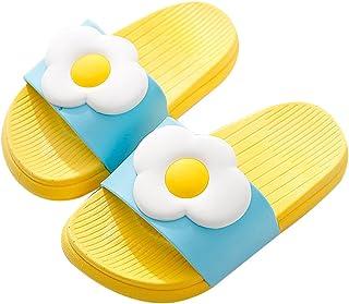 QZBAOSHU Niño Niña Playa Zapatillas Sandalias Mujer Hombre Verano Interior Baño Fruta Zapatillas para Familia