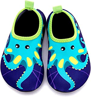 Kids Water Shoes Barefoot Shoes Quick Dry Non-Slip Swim Aqua Socks for Beach Pool Surfing Yoga Toddler/Boys/Girls
