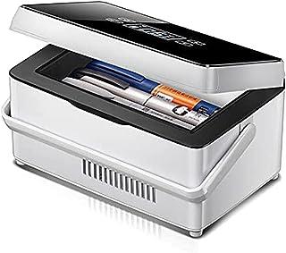 WANGXNCase Isolin kylare resväska, inbyggt batteri mini insulin reefer förvaringsbox mini medicin kylskåp och insulinkylar...