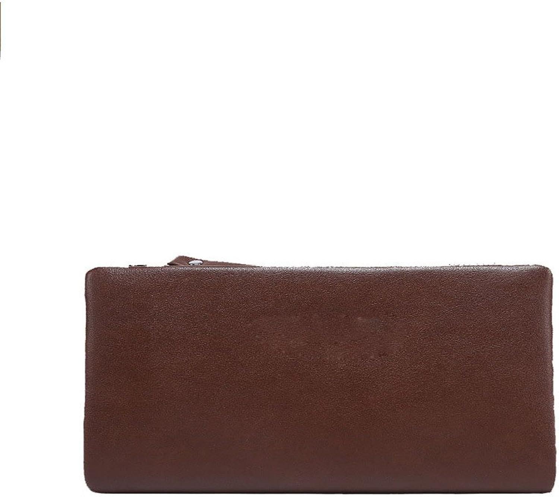 Yuqianqian Brieftasche Krotitkartenetui Kartenetui Männer PU Leder Geldbörse Mann Geldbörse Mann Aktentasche Umschlag Handgelenk Tasche Business Freizeit Tasche B07QDW6RMC