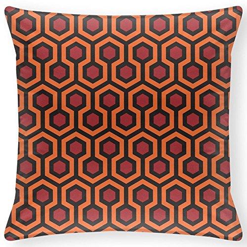 JHLKFDOODO The Shining - Carpet Pattern Dekoratives Kissen 40x40 cm Cover Kissenbezug mit Reißverschluss Wohnkultur 16X16 Inch(Zwillingsseiten)