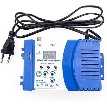 Fastuu Hdm66 Rf Modulator Professional Hdmi To Rf Video Elektronik