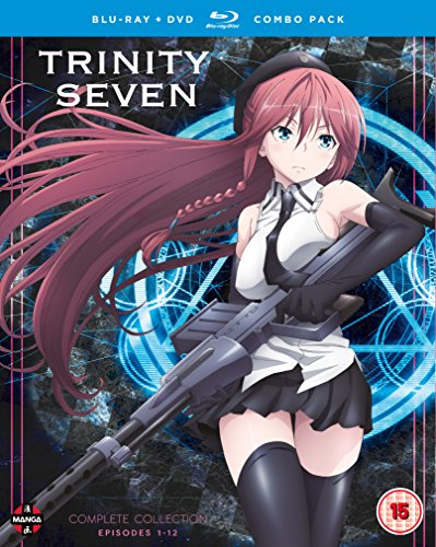 Trinity Seven - Complete Season Collection Blu-ray/DVD Combo Pack [Reino Unido] [Blu-ray]
