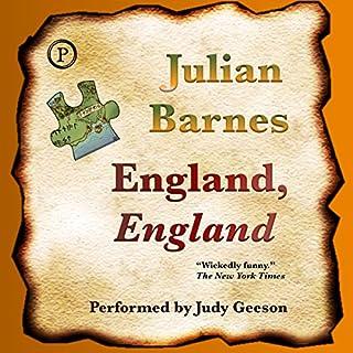 England, England audiobook cover art