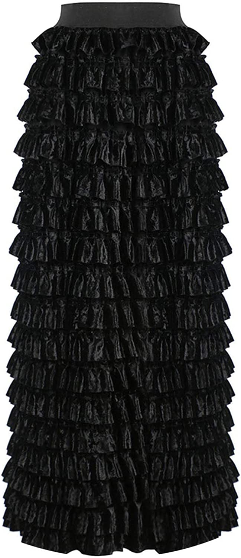 Crack Dawn 2018 Autumn Womens Ladies Aline Skirt High Waist Skirt
