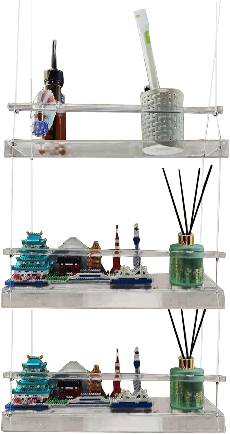 HYKITDAY Hanging Plant Shelf Planter Window Clear Arlington Mall H Manufacturer direct delivery for