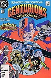 Centurions #2 VF ; DC comic book