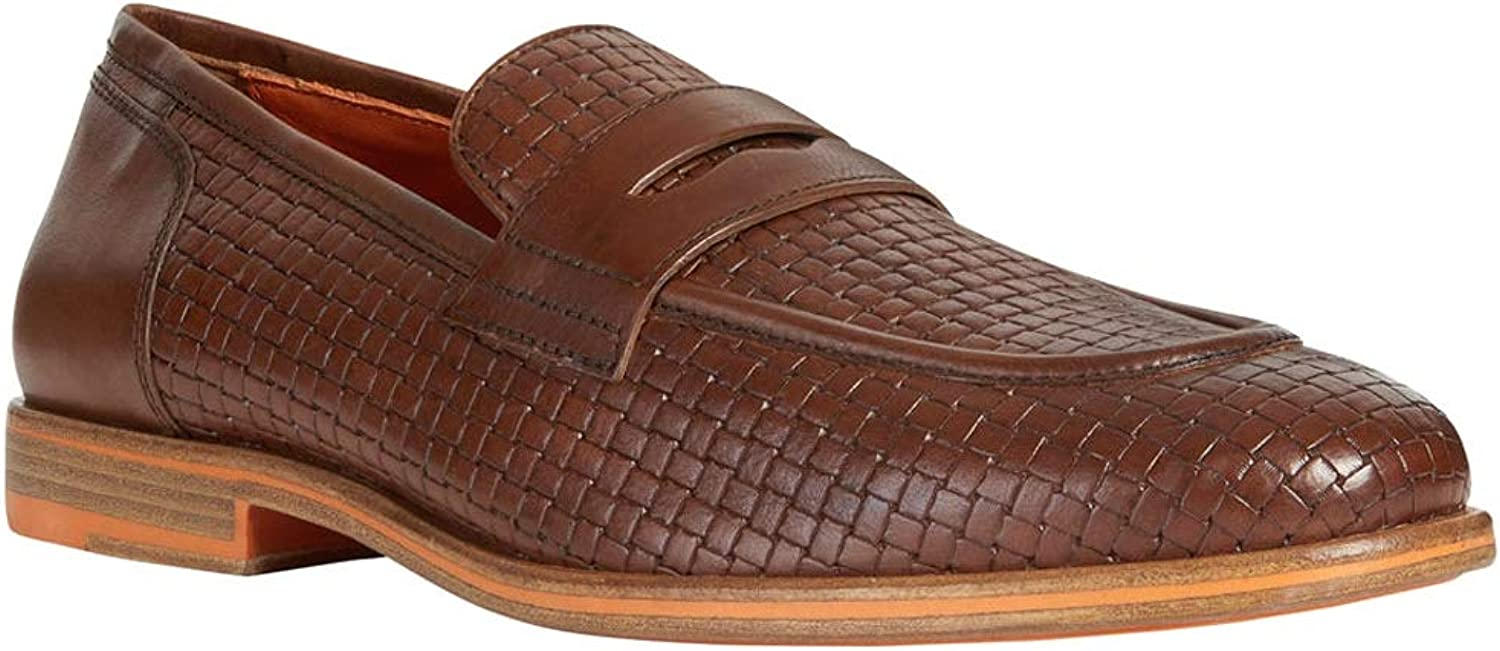 Geox Men's U Bayle A Loafers, Brown (Browncotto C6003), 6.5 UK