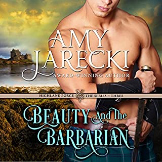 Beauty and the Barbarian audiobook cover art