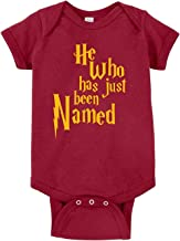 Curiositees He Who Has Just Been Named Cute Funny Baby Bodysuit