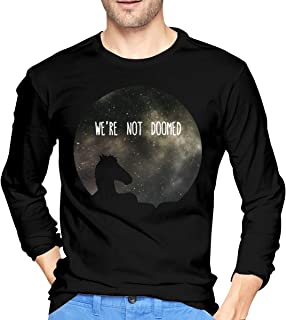 See Sarah Lynn, We are Not Doomed Men's Leisure Long Sleeve T-Shirts