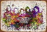 HONGXIN Vintage Zinn Zeichen - Aerosmith Posters Art -
