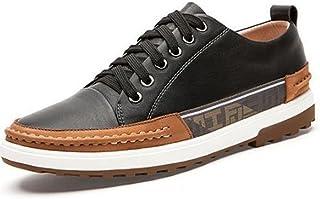 メンズレザーローファーシューズ メンズ?カジュアルシューズ レザーシューズ 柔らかい底の通気性の靴 ローファーシューズ (色 : ブラック, サイズ : 245)