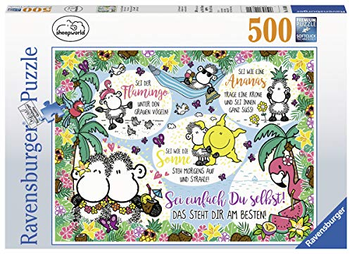Ravensburger Puzzle 14830 - Sei einfach Du selbst! - 500 Teile