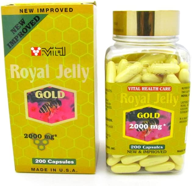 New Improved Super Extra Gold Royal 200 Capsules Max 41% OFF Trust 2000mg Jelly