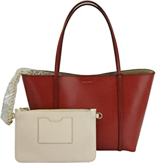 Brown Leather Tote Bag Bb6022 AP072 80044 With Pouch
