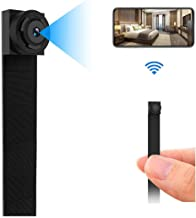 Hidden Spy Camera, WiFi Nanny Cam 1080P Portable Security Cameras for Home/Office with 8 Hours Working Time/App Control/Motion Detection/Loop Recording