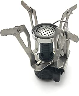 Boundless Voyage 3000W Protable Mini Stove Gas Burner Foldable Camping Steel Stove with Ignition BV1012