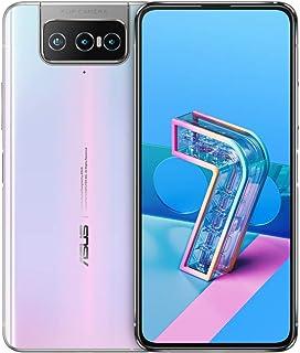 ASUS Zenfone 7 Pro ZS671KS Dual-SIM 256GB + 8GB RAM Factory Unlocked 5G Smartphone (Pastel White) - International Version