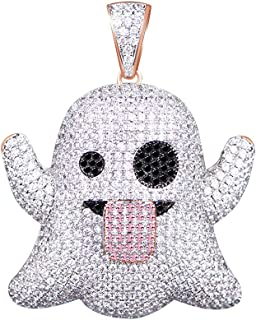 Best diamond ghost pendant Reviews