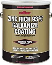 Crown 7007G Metallic Gray MIL-P-46105(MR), MIL-P-21035B, AND DOD-P-21035A, ASTM B-117 Cold Galvanize Coating, 1 gallon