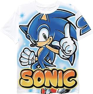 Sonic The Hedgehog Boys Short Sleeve T-Shirt - Air...