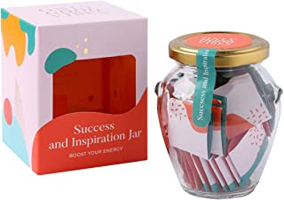 Only Good Vibes Success and Inspiration Jar Gives Positive Boost and motivates You, Your Friends and Others That You Care ...