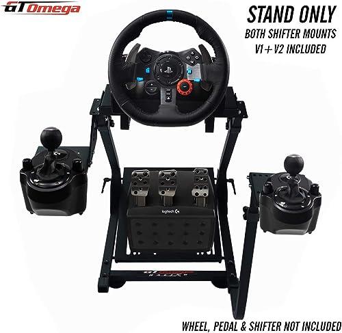 GT Omega Volante soporte para Logitech G29 G920 G923 con montura de cambio de velocidades v1 y v2 Thrustmaster T500 T...