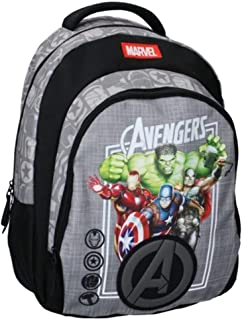 Marvel The Avengers Wheeled Backpack - Thor, Hulk, Captain America, Iron Man - Grey
