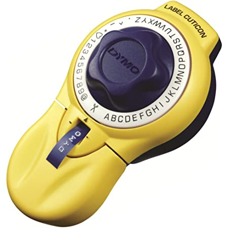 ダイモ テープライター キュティコン 9mm幅テープ対応 英数字 イエロー DM20008