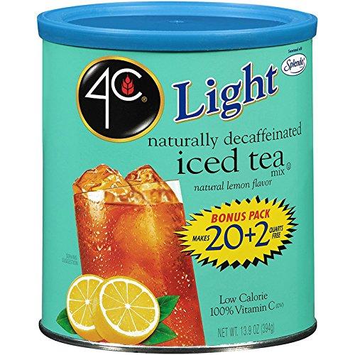 4C Light Decaf Iced Tea Mix 22 qt. (Pack of 3)