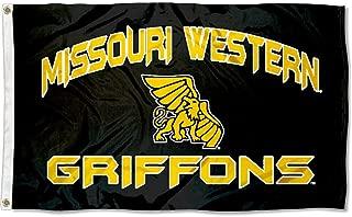 Missouri Western State Griffons MWSU University Large College Flag