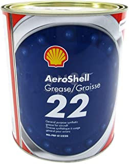 AeroShell Grease 22 Advanced General-Purpose Synthetic Aircraft Grease - 3 Kg (6.6 lb) Can