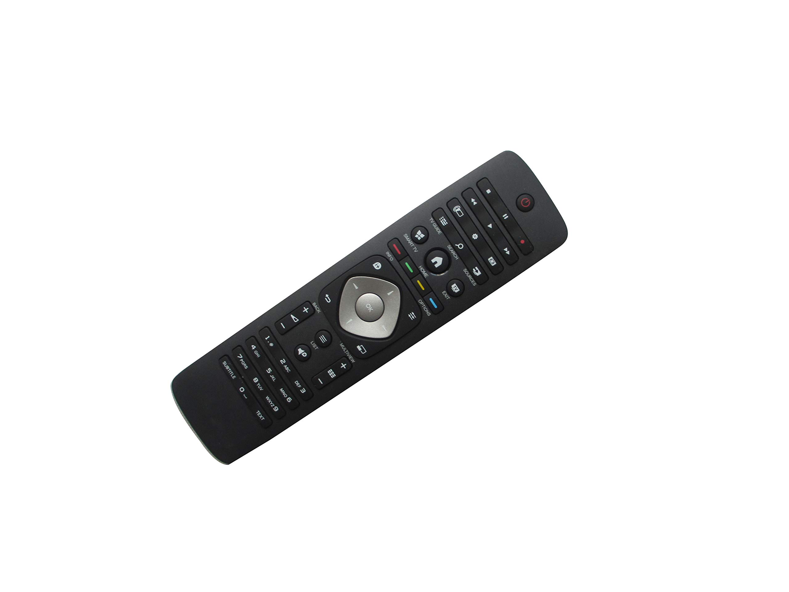Mando a Distancia para televisor Philips 65PUS7101/12 75PUS7101/12 75PUT7101/79 43PUH6101/88 43PUS6101/12 43PUT6101/12 LED HDTV: Amazon.es: Electrónica
