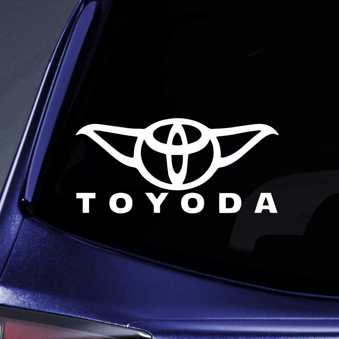 Bargain Luxury goods Max Decals - Albuquerque Mall Toyoda Yoda Car Decal Lapt Sticker Notebook