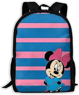 Custom Lovely Minnie Casual Backpack School Bag Travel Daypack Gift