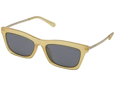 Michael Kors 54 mm Stowe MK2087U (Sunshine Yellow/Grey Solid) Fashion Sunglasses