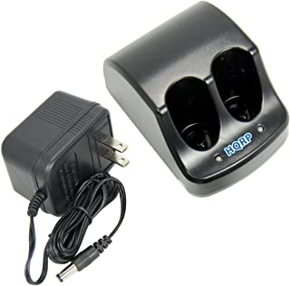 HQRP Dual Battery Charger for Black & Decker 3.6V Versapak VP720 Type 2, VP720T Type 2, VP730 Type 1, VP730 Type 2, VP750 Type 1, VP750B Type 1 Power Tools + HQRP Coaster