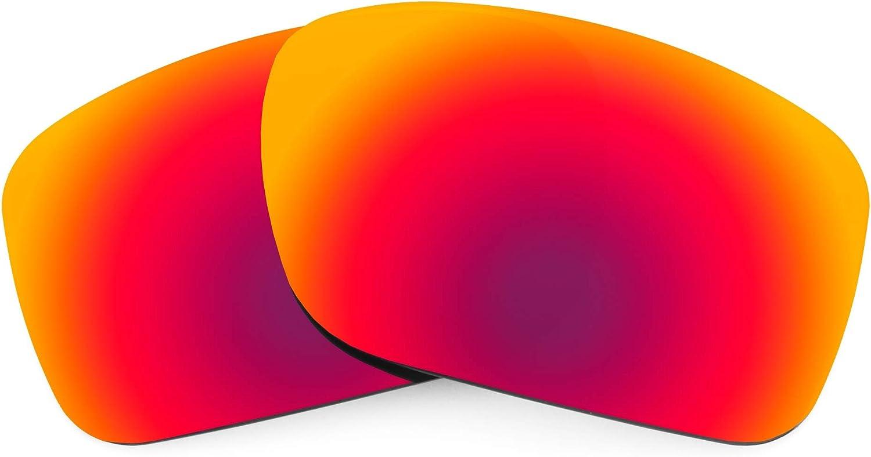Revant Verres de Rechange pour Oakley Turbine - Compatibles avec les Lunettes de Soleil Oakley Turbine Soleil de Minuit Mirrorshield - Polarisés