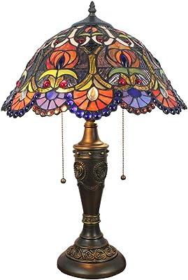 Arctic bleu tiffany jewel lampe de bureau lampe de table