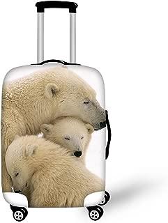 polar bear suitcase
