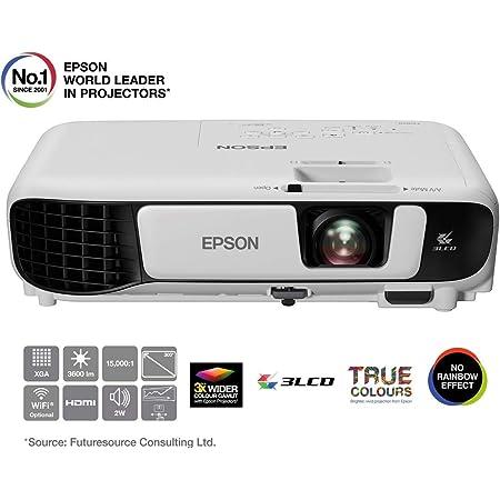 Epson Eb U05 3lcd Projektor Wuxga 3400 Lumen 15 000 1 Kontrast Küche Haushalt