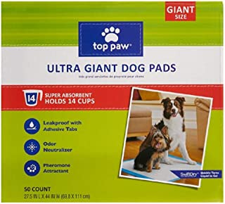 *Top Paw New & Improved Ultra Giant Dog Pads | 44% Bigger & 2X More Absorbent