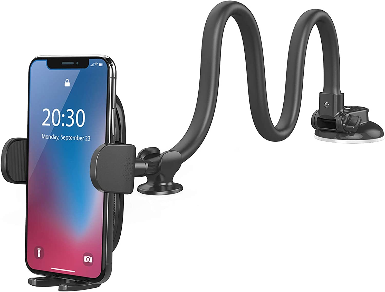 OQTIQ 13-inches long Dashboard windshield toyota tacoma phone mount