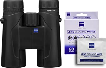 Zeiss Terra 10x42 ED 524206 Binoculars w/ Free 60 ct. Zeiss Lens Wipes