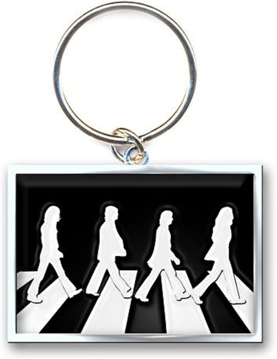 The Beatles Keyring Keychain Abbey Road Crossing Official Size One Size