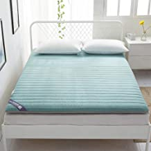 6cm Thick Foldable Thick Tatami Mattress Super Soft and Breathable 100% Cotton Japanese Futon Floor Mat Portable Queen Mat...